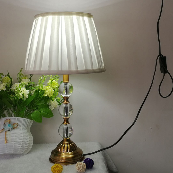 TUDA Free Shipping Luxary Classic American K9 Crystal Table Lamp Modern Decorative Table Lamp For Living Room Bedroom luxary classic american bedroom table light foyer european crystal table lamp glass tall table light bedside hotel table lamp