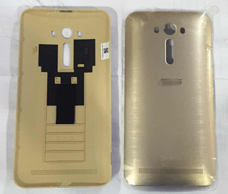 Battery cover /Back cover case For 5.5'' For  Asus ZenFone 2 Laser ZE550KL Z00LD gold color  free shipping