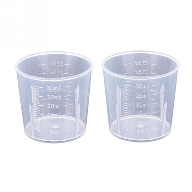 Merveilleux Plastic Measuring Jug Pour Spout Surface Kitchen Laboratory Measuring Cups  Scale Cooking Tool