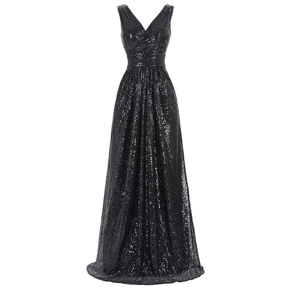 Robe brillante robe de Cocktail boule sans manches Maxi Fit nuit fête de mariage premier bal de promo