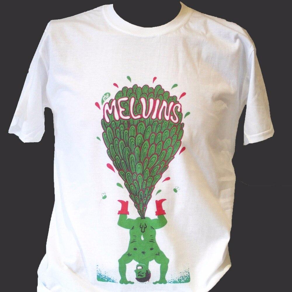 Melvins Metal Hardcore Punk Rock Mens Summer Short Sleeve Round Neck T-Shirt Big Business S-3XL