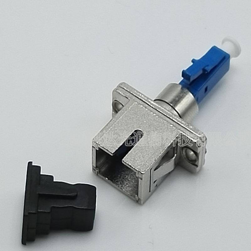 LC/UPC male conversion, SC/UPC female fiber, male female adapter, flange type male female attenuator, male female adapter 1 PCS