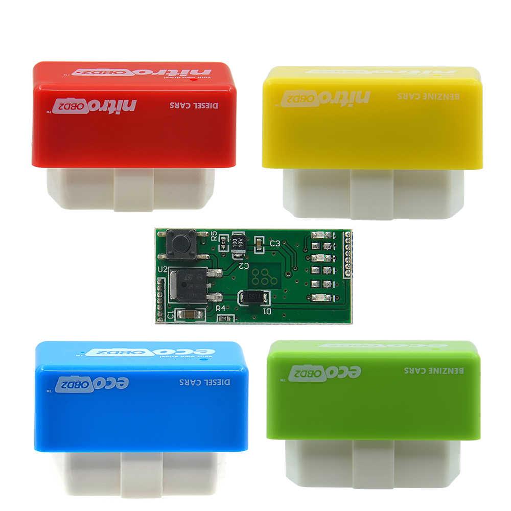 VSTM NitroOBD2 Car Diagnostic Auto ECU Chip Tuning BOX Nitro OBD2 Scanner  For Diesel Cars Performance Engine Speed