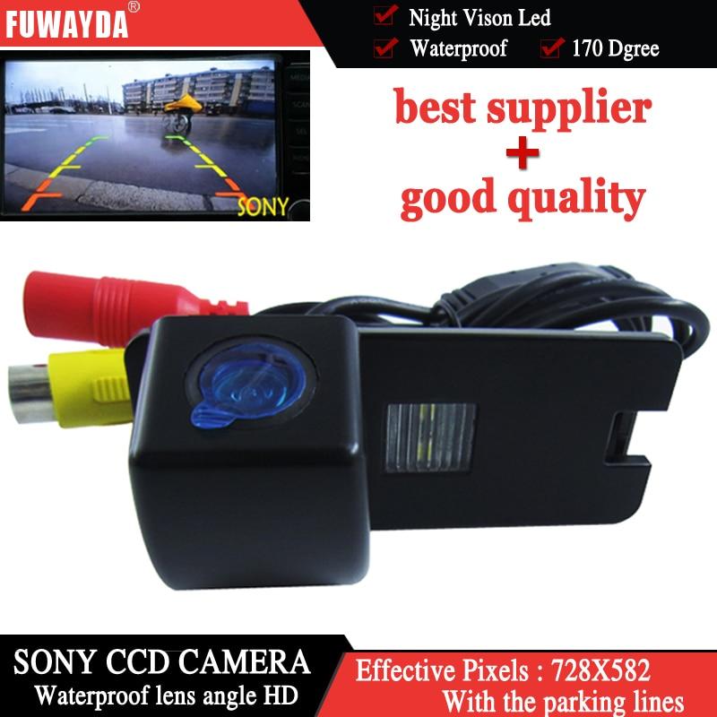 Fuwayda Sony CCD чип заднего вида Обратный Парковка зеркало изображение с Руководство Line камера для Holden Commodore VY VZ VE1 HD