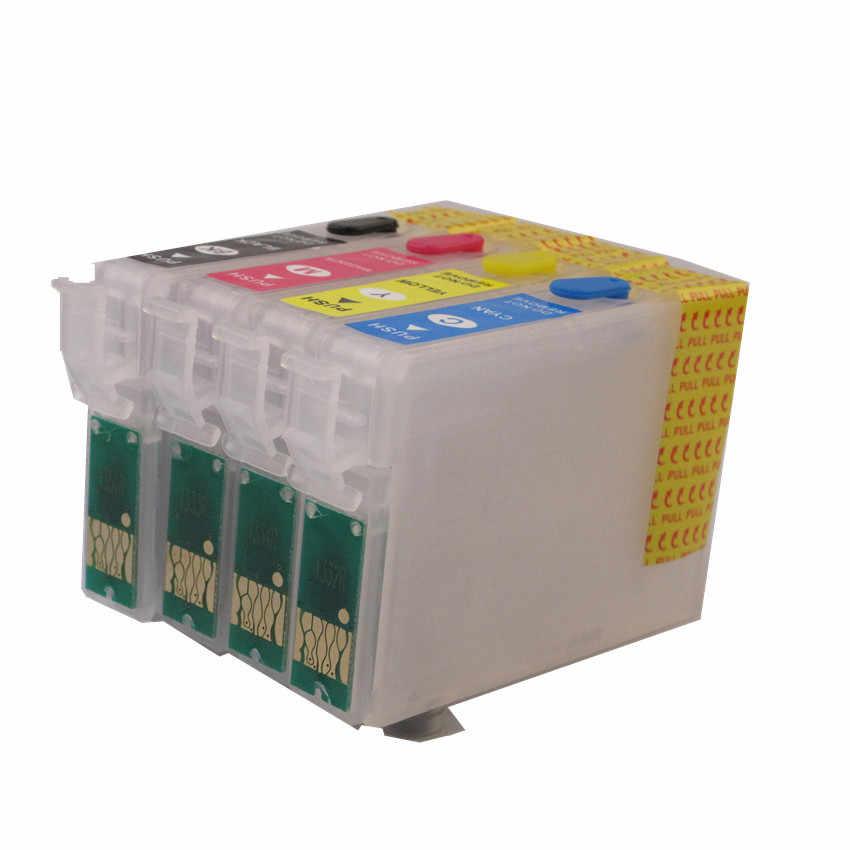 71 T0715 T0711 Isi Ulang Tinta untuk Epson Stylus S20 S21 SX100 SX110 SX105 SX115 SX200 SX205 SX209 SX210 Printer