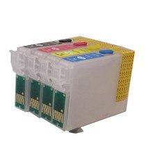 71 T0715 T0711 cartucho de tinta recargable para EPSON Stylus S20 S21 SX100 SX110 SX105 SX115 SX200 SX205 SX209 SX210 impresora