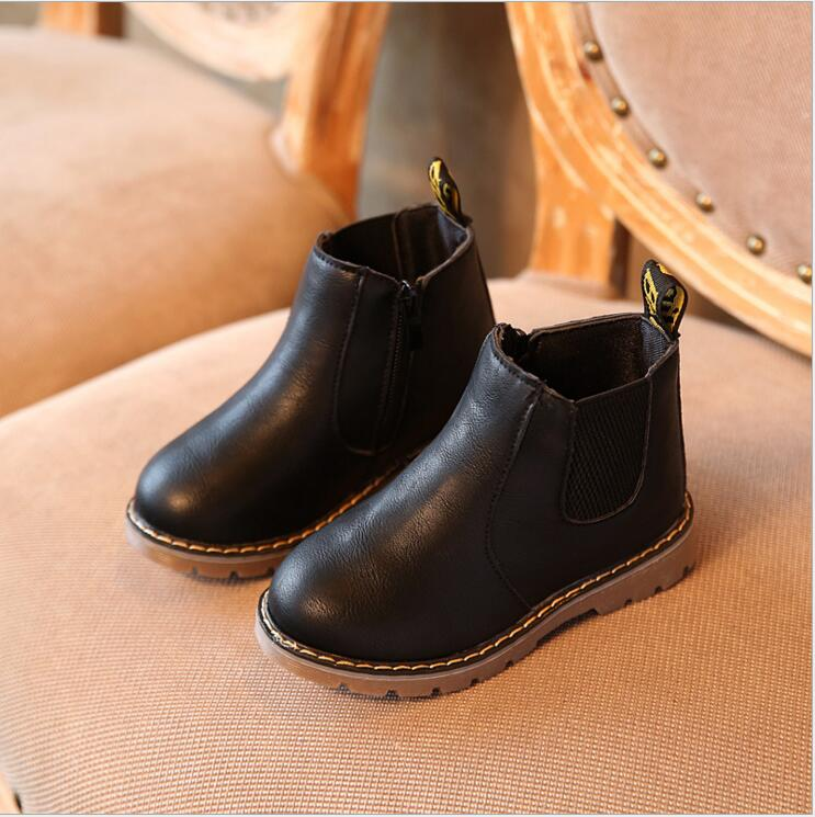 2017winter Kids autumn baby boys oxford shoes for children ...