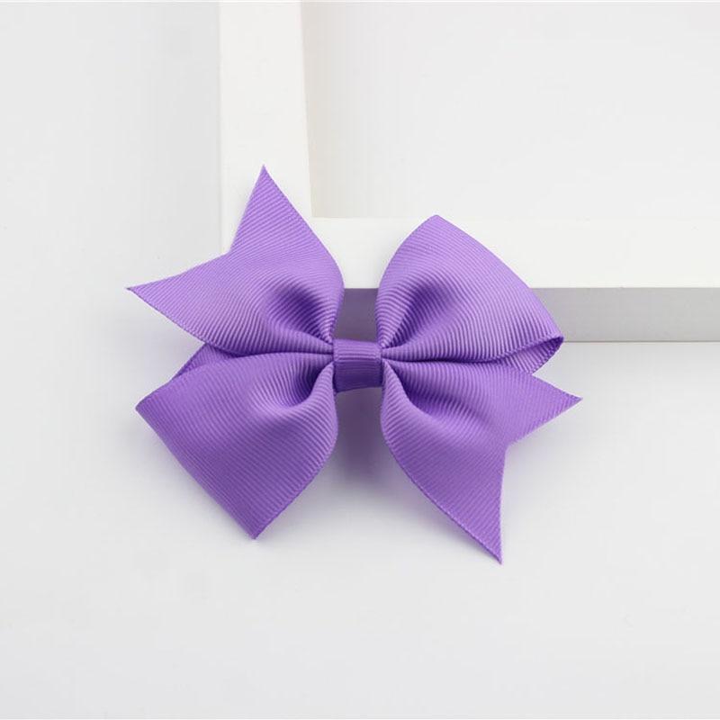 Новые модные маленькие заколки для волос для маленьких девочек, милые заколки для волос карамельного цвета с цветком, детские заколки, аксессуары для волос - Цвет: a05 Purple