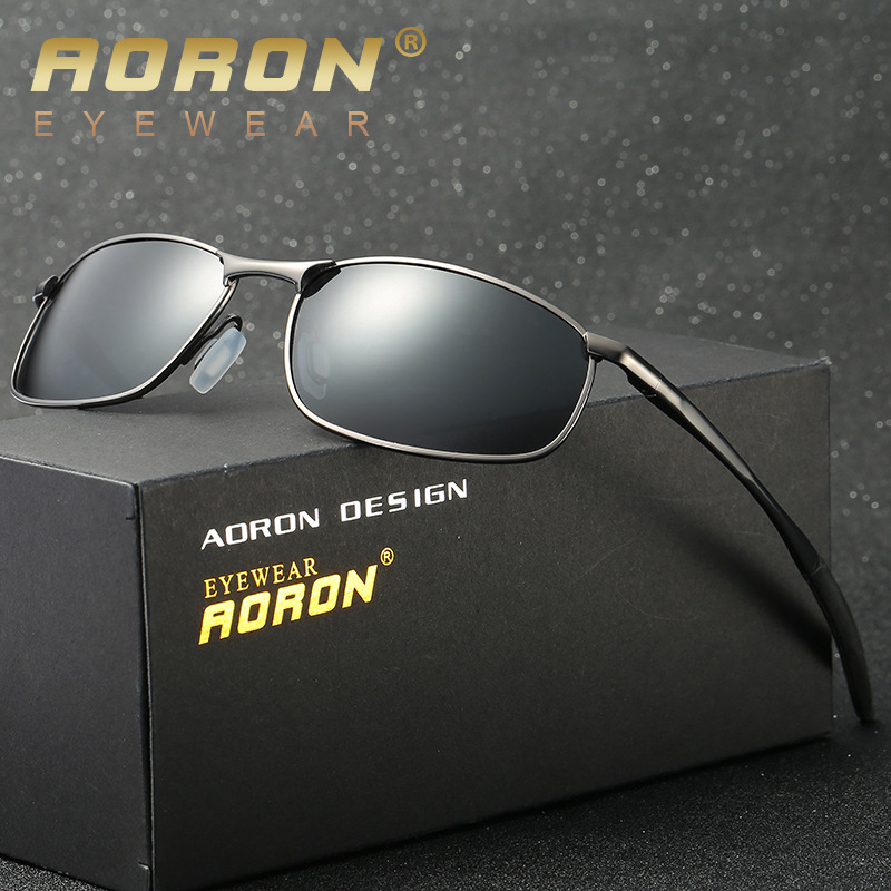 AORON Brand Designer Original Polarized Mens