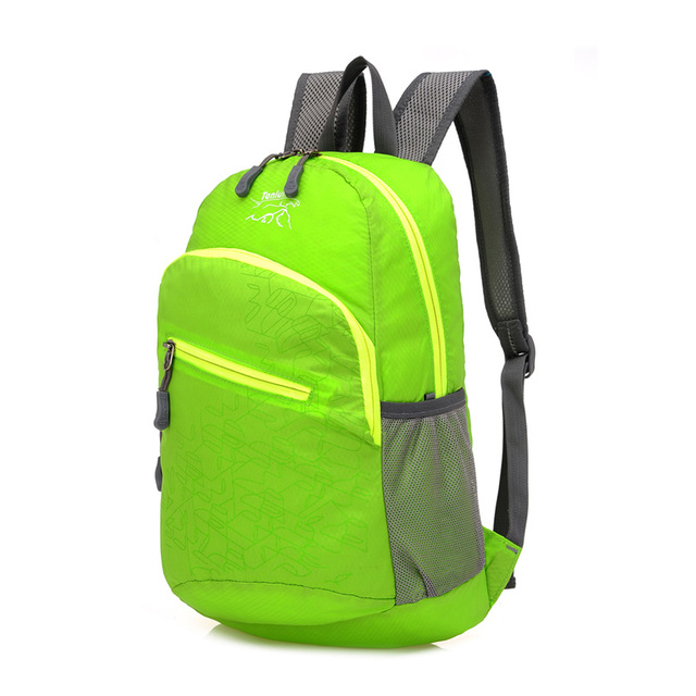 Brand Stylish Waterproof Men Women Lightweight Foldable Convenient Backpack School Backpacks for Girls Versatile Folding Bag
