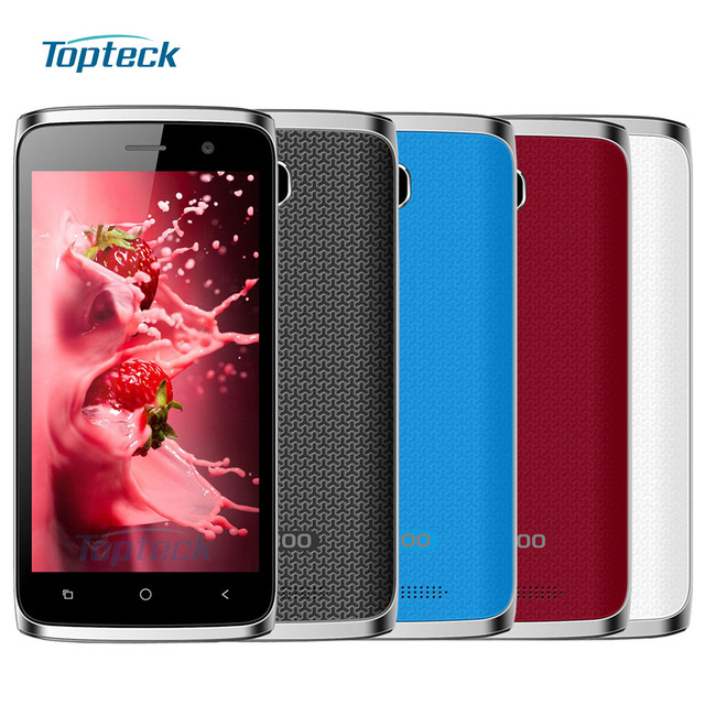 """In Stock Bluboo Mini Smartphone Android 6.0 MT6580M Quad Core 1.3GHz Cellphone 4.5"""" IPS 1GB+8GB 5MP 3G 1800mAh GPS Mobile Phone"""