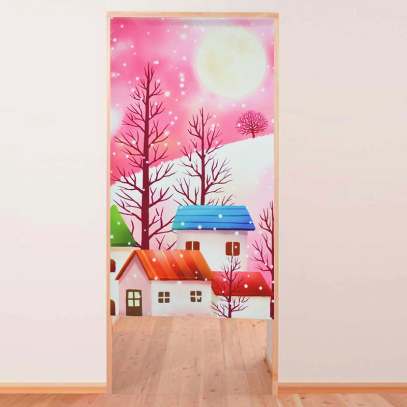 Beautifully Kitchen Door Curtains: High Quality Morden Beautiful Japanese Tricot Yarn Print
