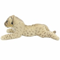 JESONN Realistic Stuffed Animals Toys Cheetah Tiger Lion Panther Plush Leopard Lioness Pillows for Kids' Birthday Gifts,60 CM