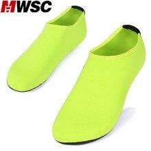 MWSC 2017 Summer New Chaussure Femme Women Water Shoes Slides Aqua Slippers for Beach Slip On Waterpark Sandals Sandalias Mujer