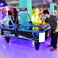 Amusement Equipment Coin Operated Game Machines Star Air Hockey Table
