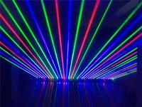 1100 МВт перемещение головы RGB лазерный массив грубой spotX8PCS для вечерние сцены и вечеринок Дискотека КТВ бар клуб театр studio iluminacion свет