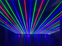 1100MW Moving head RGB laser array rough spotX8PCS stage party disco KTV bar club theatre studio iluminacion light
