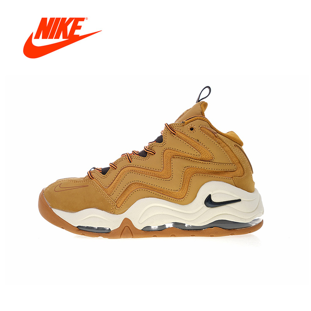 super popular 221e3 12735 Original New Arrival Authentic Nike Air Pippen 1 Men s Comfortable  Basketball Shoes Sport Sneakers Good Quality 325001-700