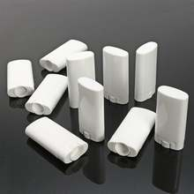 Овальный Пустой Тюбик для бальзама губ 20/50/100 шт 15 мл пластиковые