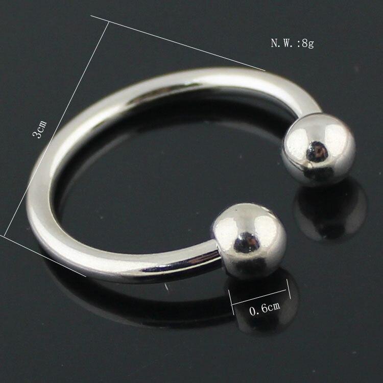 Keychain Key Ring Key Chain Key Ring Key Chain Horseshoe Buckle Male Women's Gift