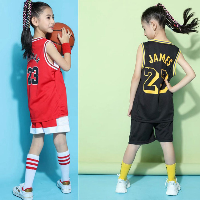 8f62a04f1b1 Hot Children Sets basketball uniforms boys and girls sports kids Vest  Active breathable training suits basketball custom set
