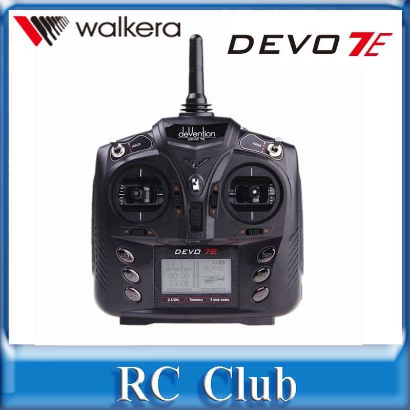 ФОТО walkera devention devo 7e 7ch transmitter for mater cp / new v120d02s without receiver 2.4ghz