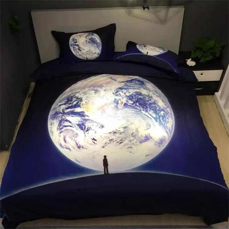 Unique Design Blue Full Moon Bedding Sets Queen Size Bed Sheets Pillowcase  Duvet Cover Bed in. Compare Prices on Unique Bed Designs  Online Shopping Buy Low