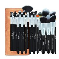 24 Pcs Sof Taklon Hair Makeup Brush Set High Quality Professional Makeup Brushes Synthetic Kabuki Brush