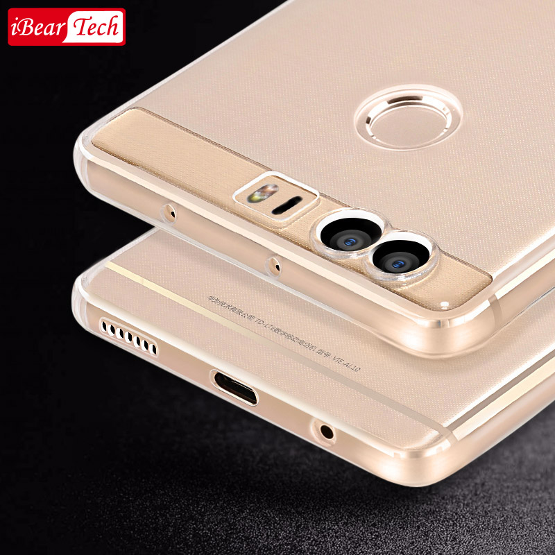 più foto 460b0 9560f US $4.93 23% OFF|Huawei honor 8 cover back soft silicone original mofi 4gb  5.2 inch huawei honor8 clear fundas ultra thin 8 coque honor 8 cases-in ...