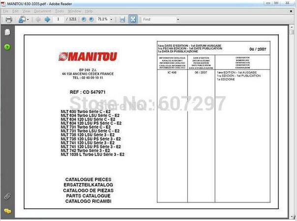 manitou forklift parts catalogs service manuals and operator s rh aliexpress com manitou mt 1440 sl manual manitou mt 1440 parts manual