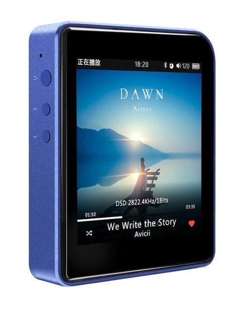 Shanling M1 (+ estuche de cuero libre) Portátil Bluetooth Mini DAP DSD HIFI MP3 Reproductor de Música Sin Pérdidas