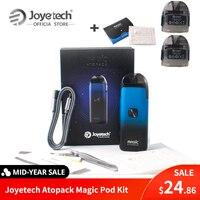 Warehouse Original Joyetech Atopack Magic Pod System Kit 7ml Coil-less 0.6ohm NCFilm Heater Built in 1300mAh VS minifit/E-Cig