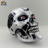 NECA VINYL Terminator T800 1 2 Skull Head Carving Gift Free Shipping