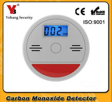 YobangSecurity Home Security 85dB Warning Independent LCD CO Carbon Monoxide Poisoning Sensor Fire Warning Alarm Detector