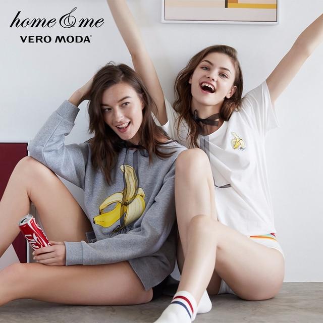 Vero Moda 2019 אביב חדש רקום תיקון ישר מזדמן חולצה | 318101548