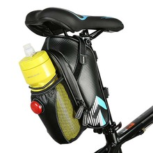 Rainproof Bicycle Bag Outdoor Cycling Riding Mountain Bike Back Saddle Seat Tail Pouch Maintenance Tools Bags with Taillight
