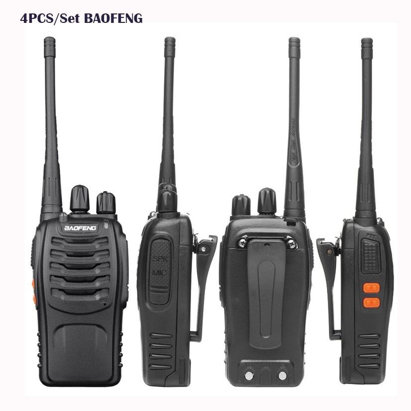 bilder für 4 stücke handliche Baofeng BF-888S Intercom ham zwei-wege-radio comunicacion baofeng bf 888 s für cb Radio ht 2 Way Radio lautsprecher Amador