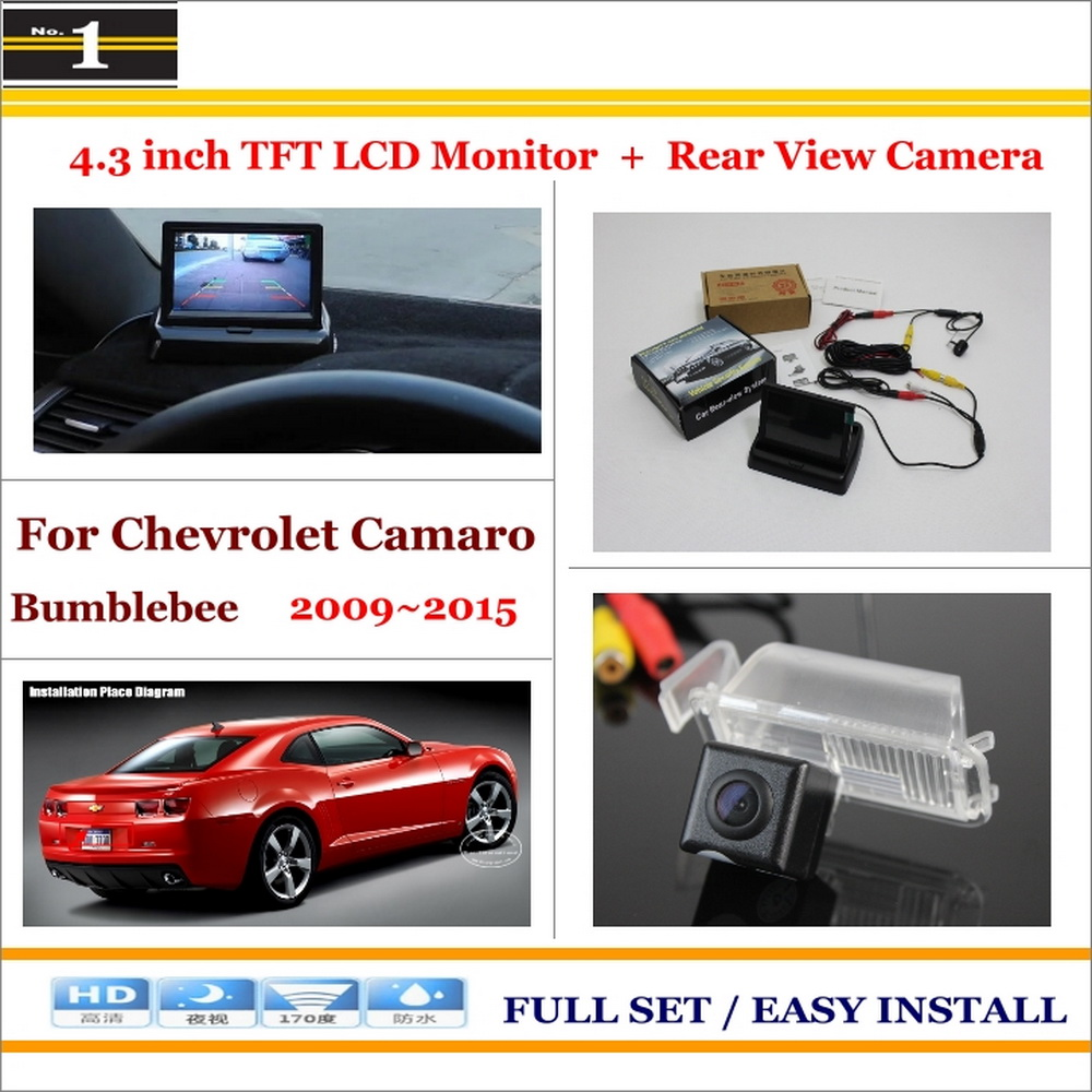 compare prices on camaro camera online shopping buy low price in car 4 3 color lcd monitor car rear back up camera 2 in