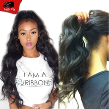 Newest Fashion Black Women Glueless Full Lace Body Wave Human Hair Wigs Brazilian Virgin Hair Beyonce Lace Front Wigs With Bangs