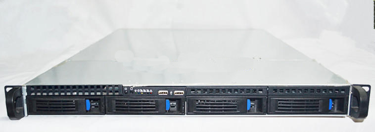 1U1404 4 hard disk, hot plug, chassis, 1U, rack type server, case, 1U case 2 set lot neutrik powercon type a nac3fca nac3mpa 1 chassis plug panel adapter