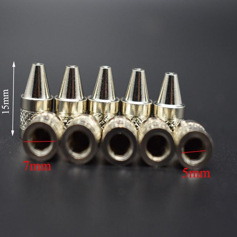 10pcs/set 2mm Nozzle Iron Tips Metal Soldering Welding Tip For Electric Vacuum Solder Sucker/Desoldering Pump