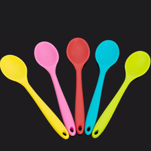 3 Pieces Per Lot Silicone Rice Spoon Big Size Pan Harmless Hot Resistant Free Shipping