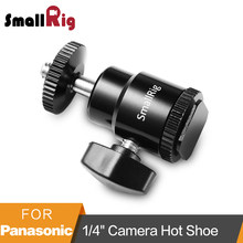 "SmallRig 1/4 ""Camera Hot shoe Mount met Extra 1/4"" Schroef voor Canon/Nikon/Panasonnic/Fujifilm -761(China)"