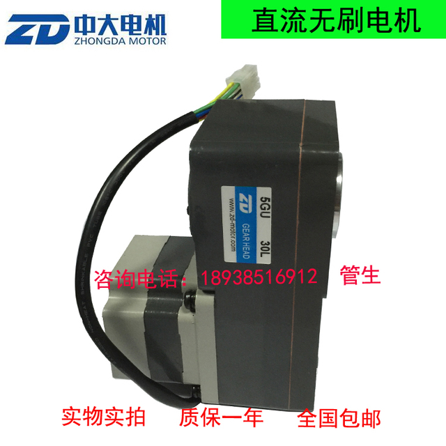 Z5BLD200-24GU-30S / 5GU30L climbing machine with brushless DC motor
