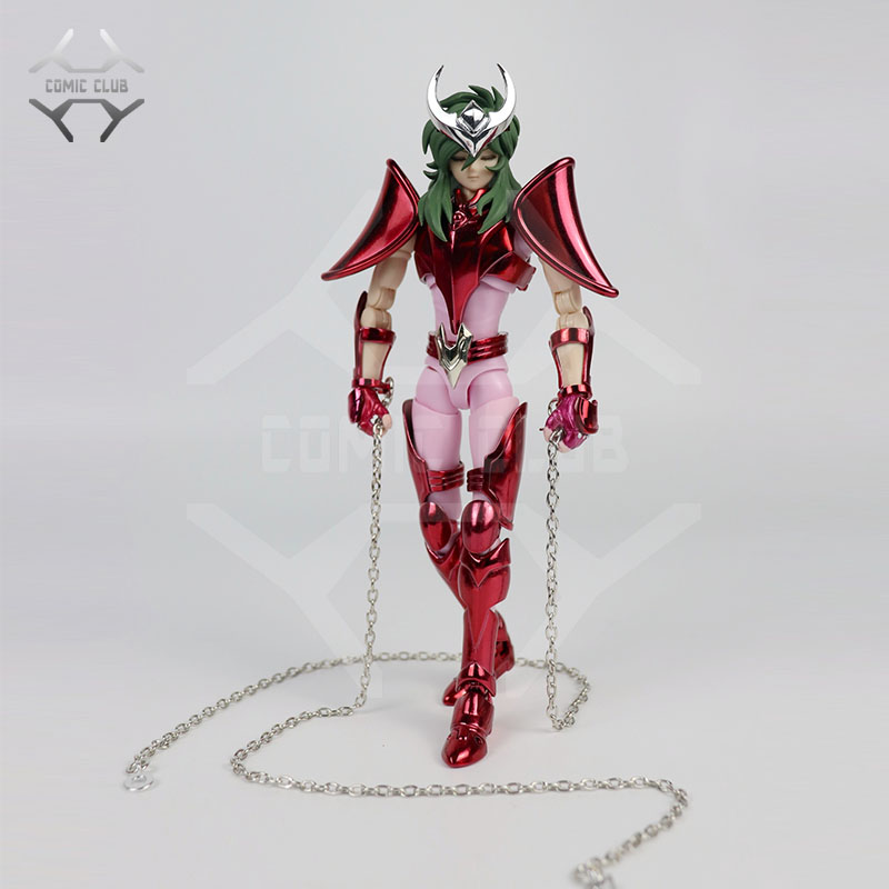COMIC CLUB IN-STOCK GREAT TOYS GreatToys GT EX Saint Seiya Andromeda Shun V3 Myth Cloth Action Figure Model