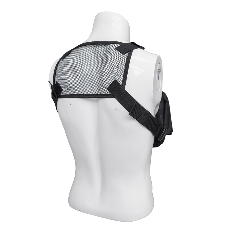 Men Tactical Shoulder Bags Chest Rig Bag Hip Hop Streetwear Men Adjustable Pockets Waistcoat Kanye West Functional Waist Packs in Waist Packs from Luggage Bags