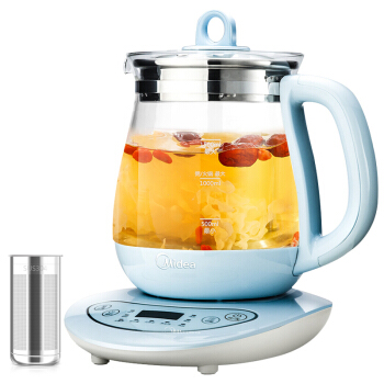 LK1731 Microcomputer Control Electric Kettle 1.5L Thermostat Glass Teapot Health Preserving Pot Fast-heating Water Pot 1000W x32 3 5l automatic electric kettle ceramics boil herb pot porcelain health preserving pot easy to clean microcomputer control