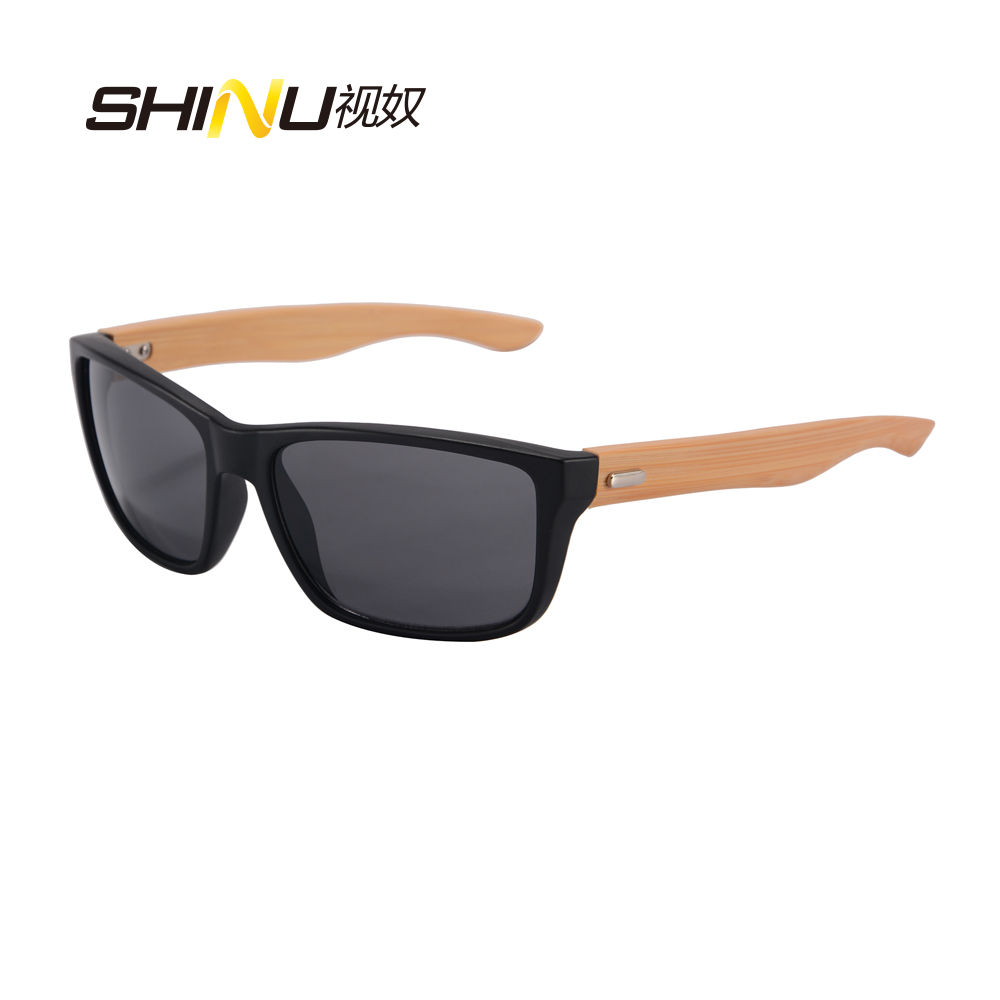 fa2c782661a Large Frame Mens Sunglasses Original wood Eyewear goggle Real Wooden Arms  Wood And PC Sunglasses Women