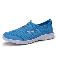 Nice New Casual Shoes For Men Fashion Summer Unisex Breathable Walking Casual Zapatos Men Trainers Shoes Size 5-8.5
