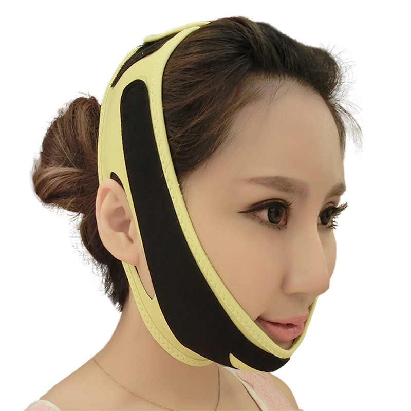 Thin face mask face ascend Sleep thin face bandage little tool Thin face artifact double chin v orthodontic reverse pull fact mask dental headgear orthodontic face mask adjustable face mask